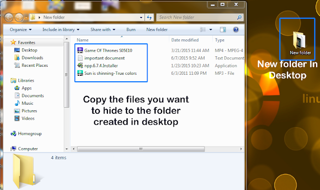 How To Hide Your Personal Files And Folders Inside An Image In Windows