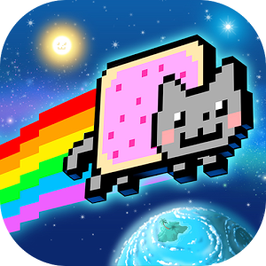 Nyan Cat: Lost In Space v9.1 Mod Apk [Money]