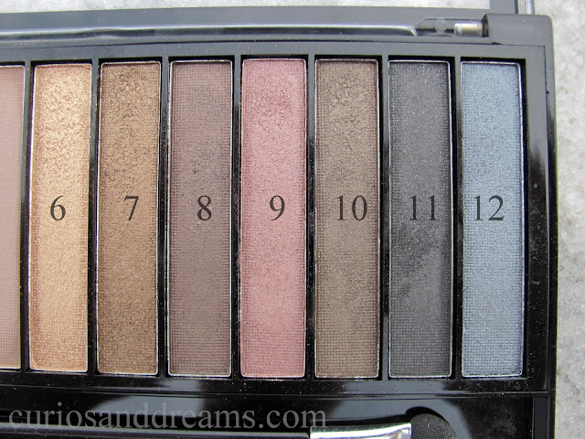 Makeup Revolution Iconic 1 Redemption Palette review, Makeup Revolution Iconic 1 Redemption Palette swatches