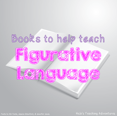 Books that help teach various types of figurative language (because we all know how challenging this concept can be, especially for ELL students!)