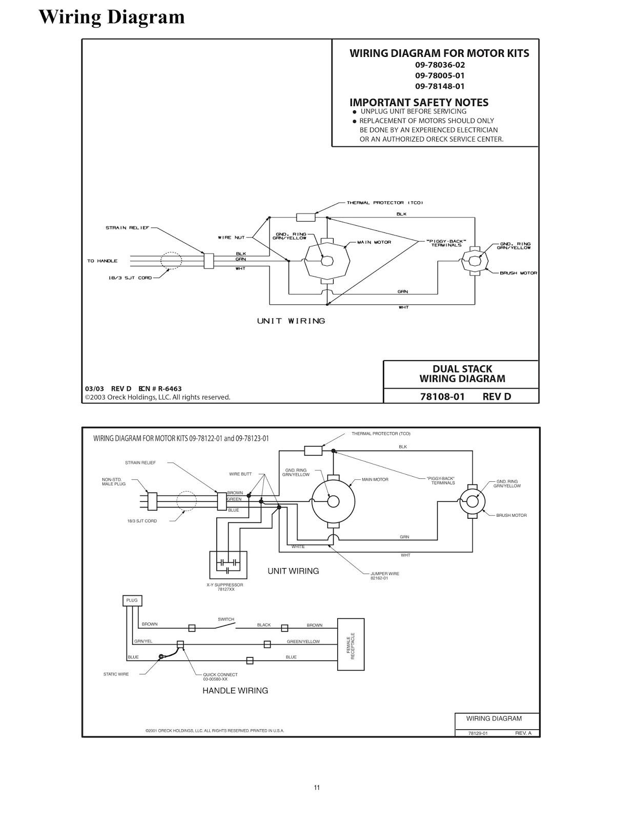 wiring diagram oreck xl3610hh schematic diagram downloadwiring diagram oreck xl3610hh wiring diagramoreck vacuum cleaner wiring diagram [ 1237 x 1600 Pixel ]