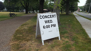 last concert on the common for this summer, Aug 17