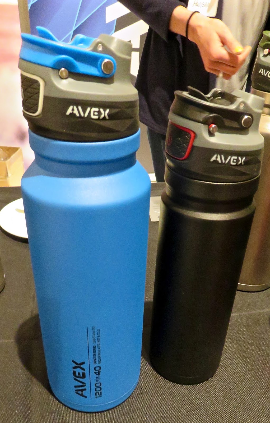 1a6725128b AVEX OUTDOOR AVEX FreeFlow and Fuse insulated bottle in BPA-free Eastman  Tritan co-polyester or rugged powder-coat finished, double-walled,  vacuum-sealed ...