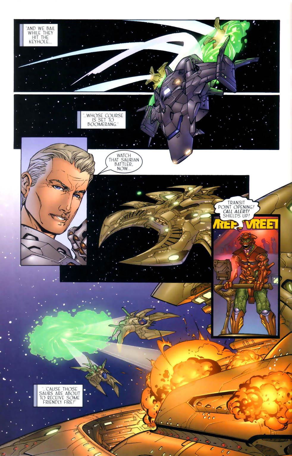 Read online Sigil (2000) comic -  Issue #3 - 13