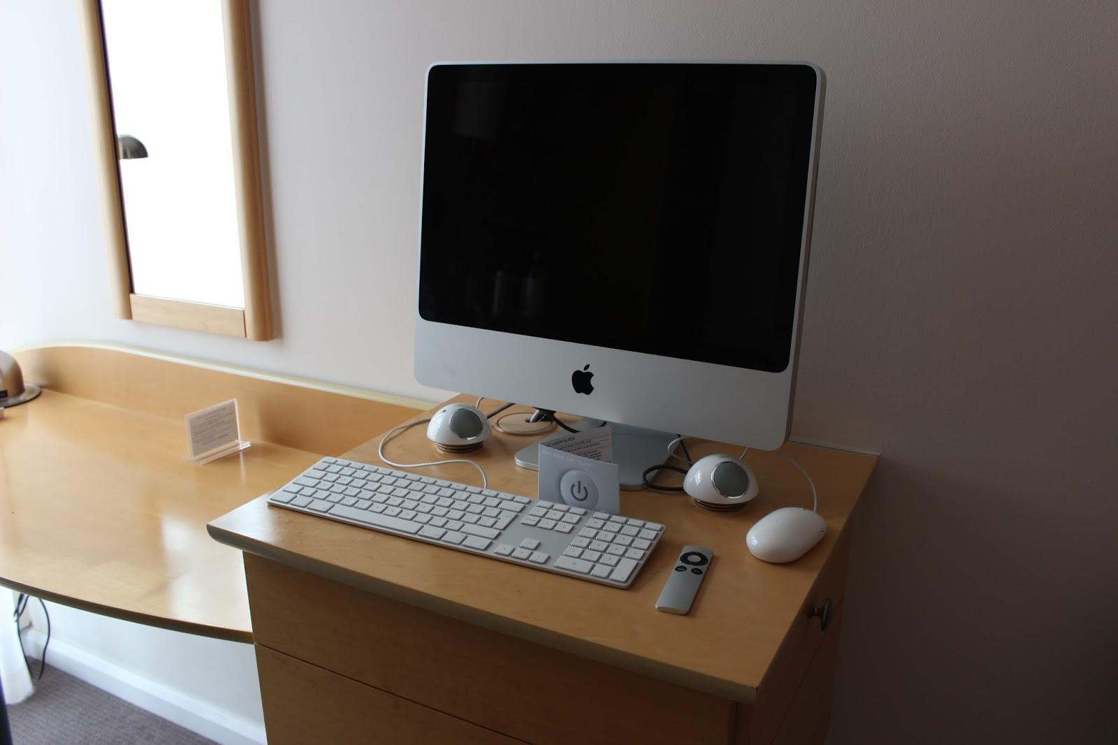 DoubleTree Hilton London Westminster iMac