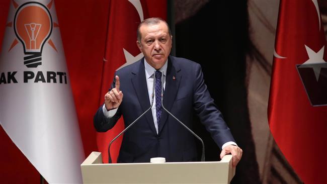Turkish President Recep Tayyip Erdogan accuses Germany of assisting terrorists amid rising rift
