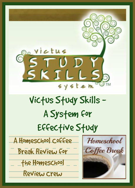 Victus Study Skills - A System for Effective Study (A Homeschool Coffee Break Review @ kympossibleblog.blogspot.com)