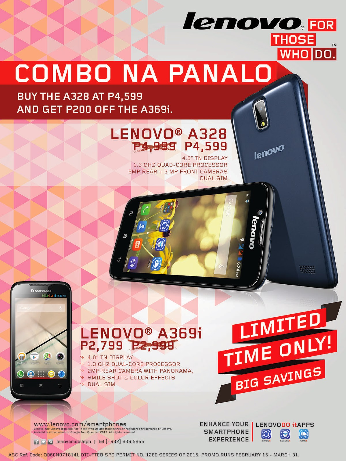 The Lenovo Mobile Price Off Promo
