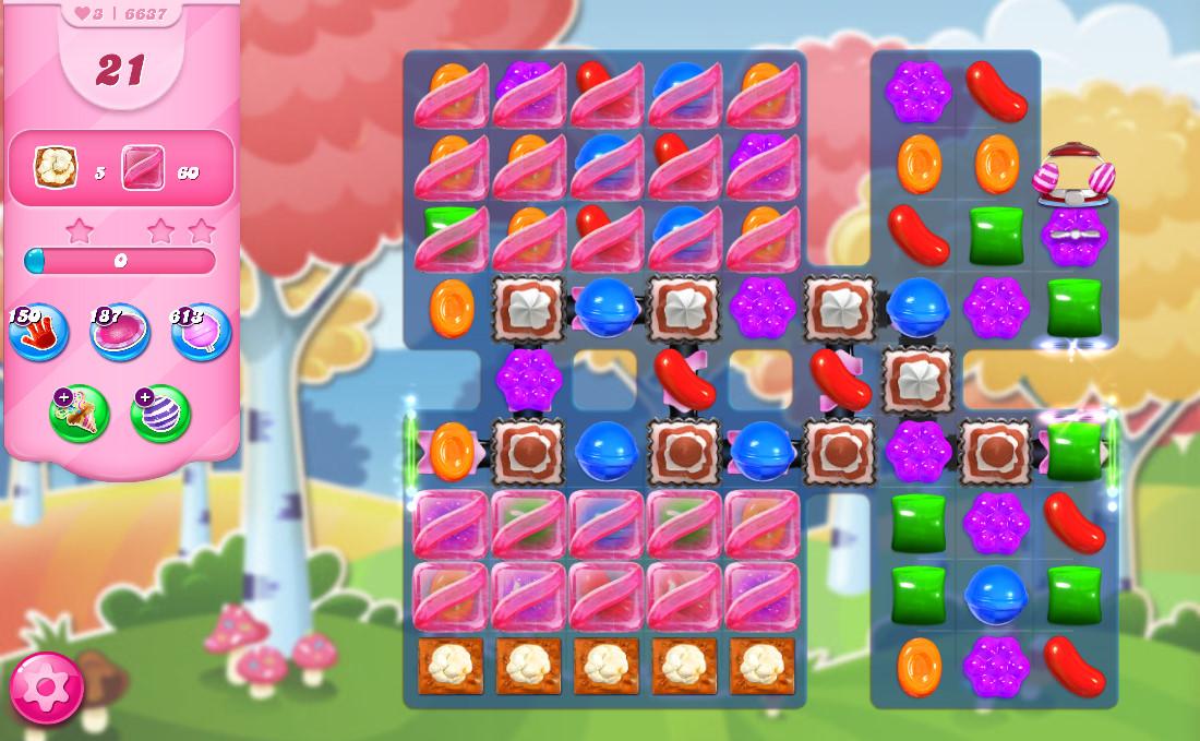 Candy Crush Saga level 6637