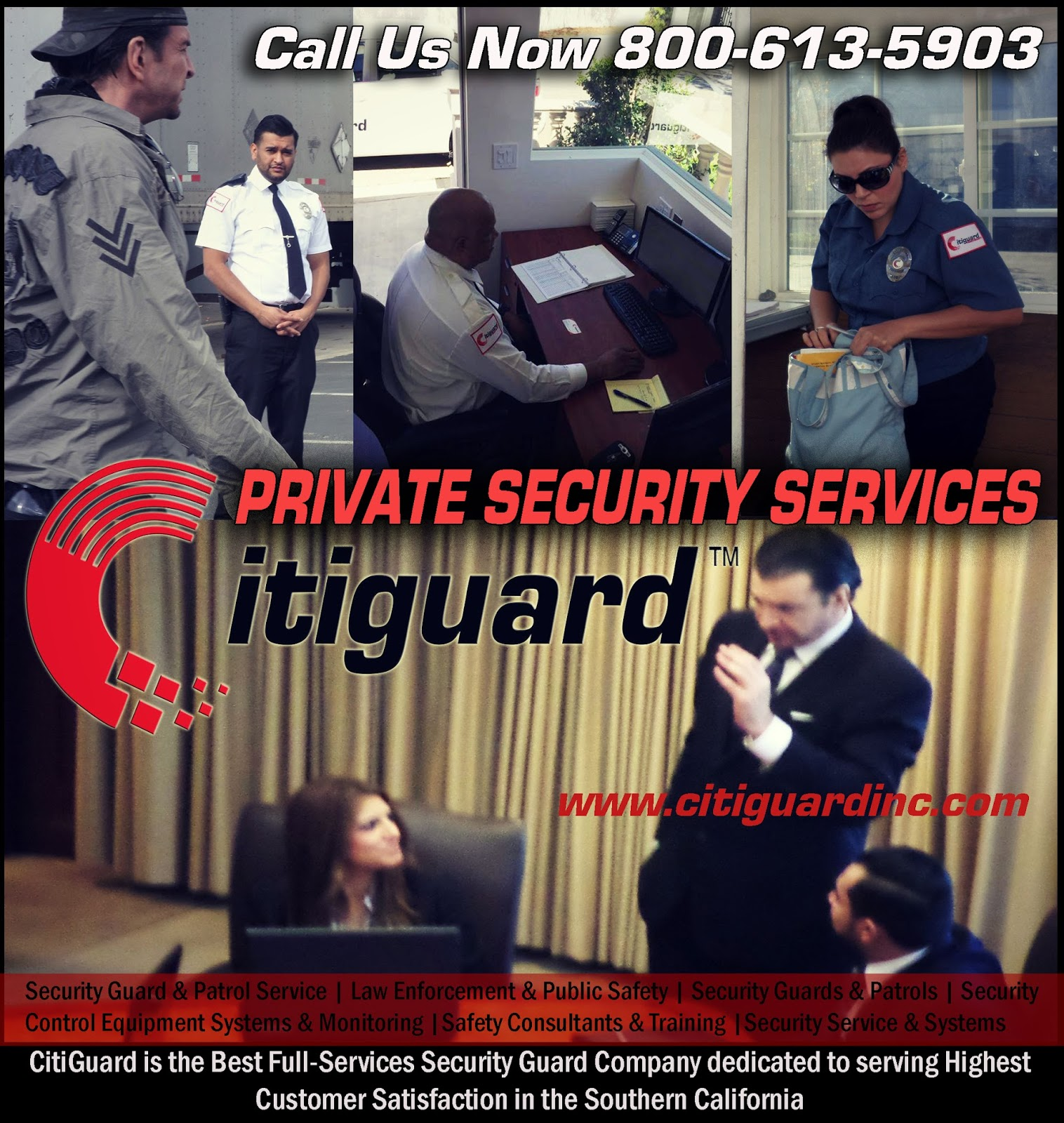 Security Guard Company Los Angeles Private Security