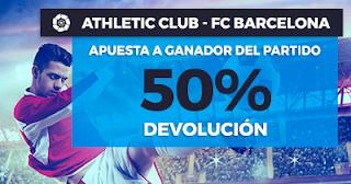 Paston Promoción Liga Santander: Athletic vs Barcelona 28 octubre