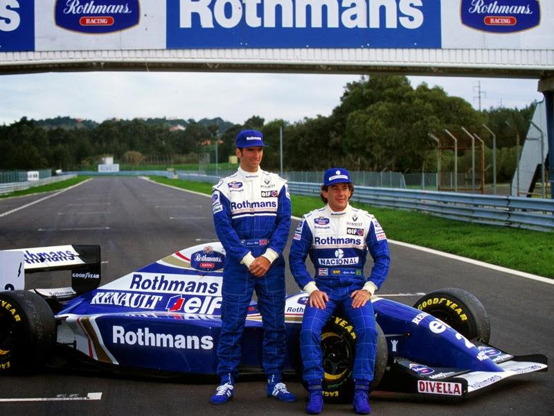 BLOG DE NOTÍCIAS DA TEMPORADA / BLOG DE NOTICIAS / LEGENDS NEWS 1994-Damon-Hill-Williams-Ayrton-Senna_2717910
