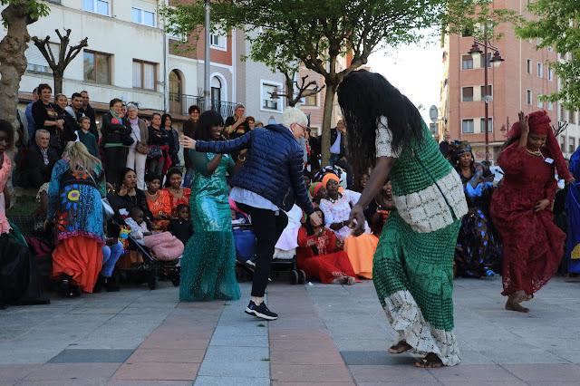 fiesta de senegaleses