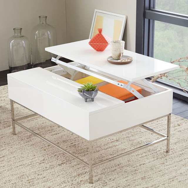 Best Modern Coffee Tables - Lacquer Storage
