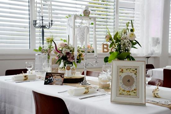 Deko Tisch Hochzeit Vintage