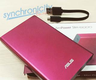 Spesifikasi Lengkap Powerbank Asus ZenPower Slim 6000