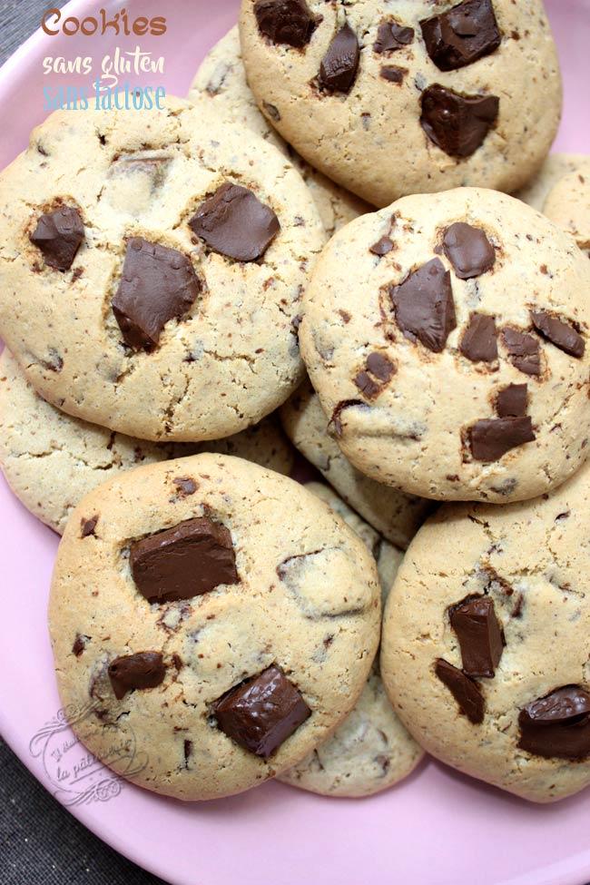 recette cookies sans gluten sans lactose