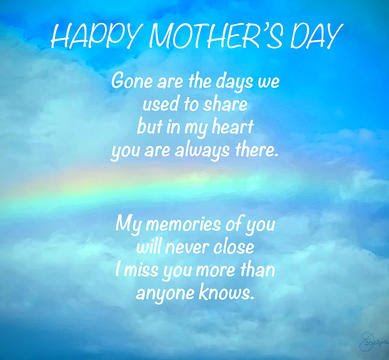 mother's day in heaven quotes