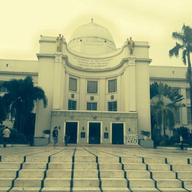 Cebu Provincial Capitol historical landmark in the Central Visayas region of the Philippines