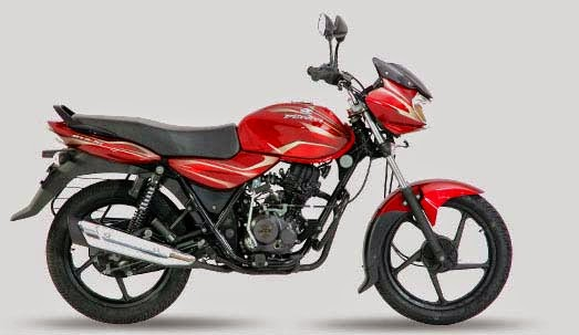 Bajaj Discover Flame red
