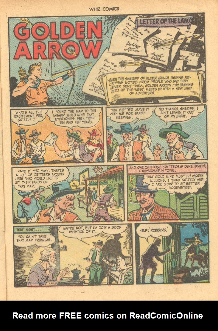 WHIZ Comics issue 66 - Page 21