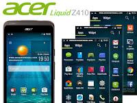 Cara Screenshot Acer Liquid Z410