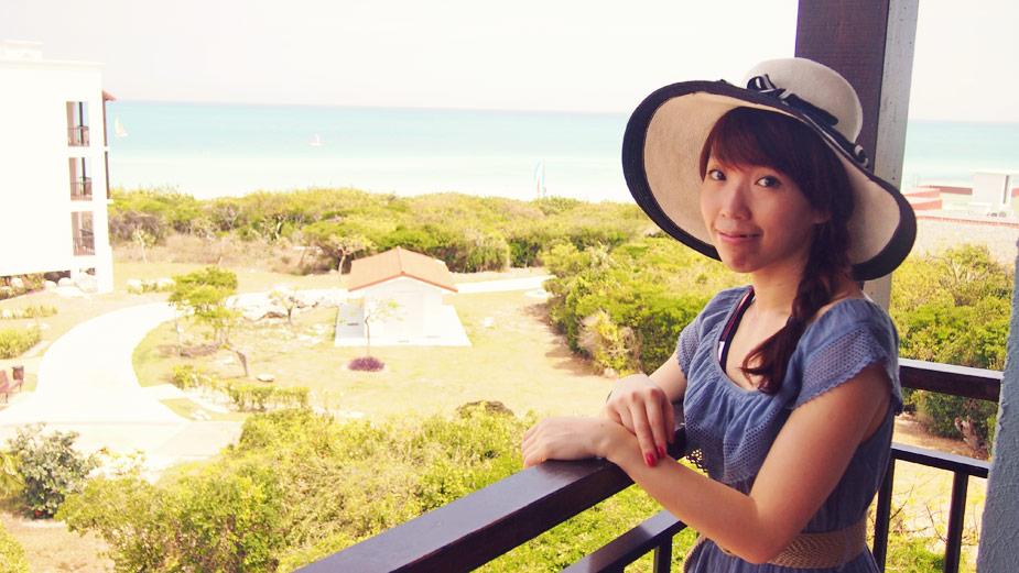 Sunshine and beach in cuba
