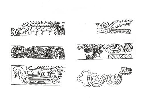 Resultado de imagen para serpiente con los mayas