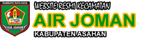 Website Resmi Kecamatan Air Joman