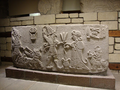 Hittite bas relief