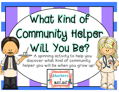 http://www.teacherspayteachers.com/Product/What-Kind-of-Community-Helper-Will-You-Be-1414924