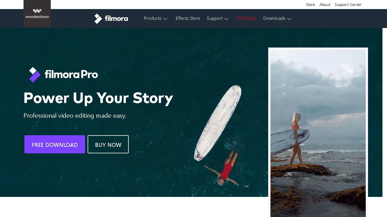 what is filmora pro