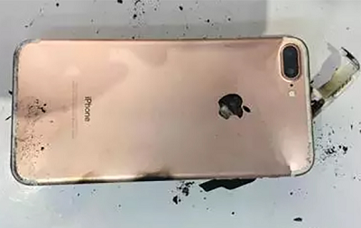 Heboh! iPhone 7 Plus Meledak Karena Terjatuh