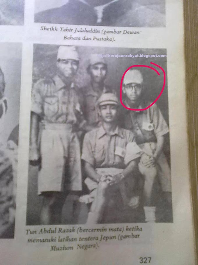 Is It True Tun Razak Was Japanese Army Before? Read This