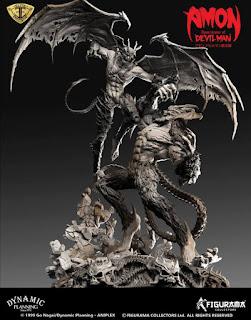 Amon vs Devilman - Figurama Collectors