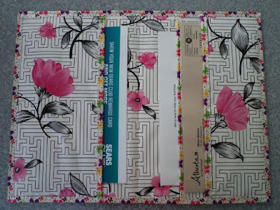Waxcloth Correspondence Folder by eSheep Designs