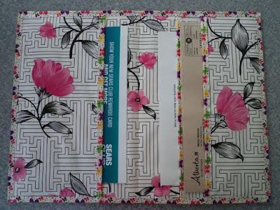 Waxcloth Correspondence Folder by eSheep Designs