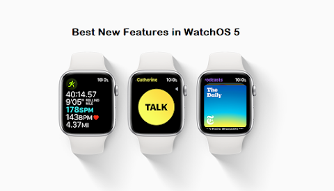 Best New Features in WatchOS 5