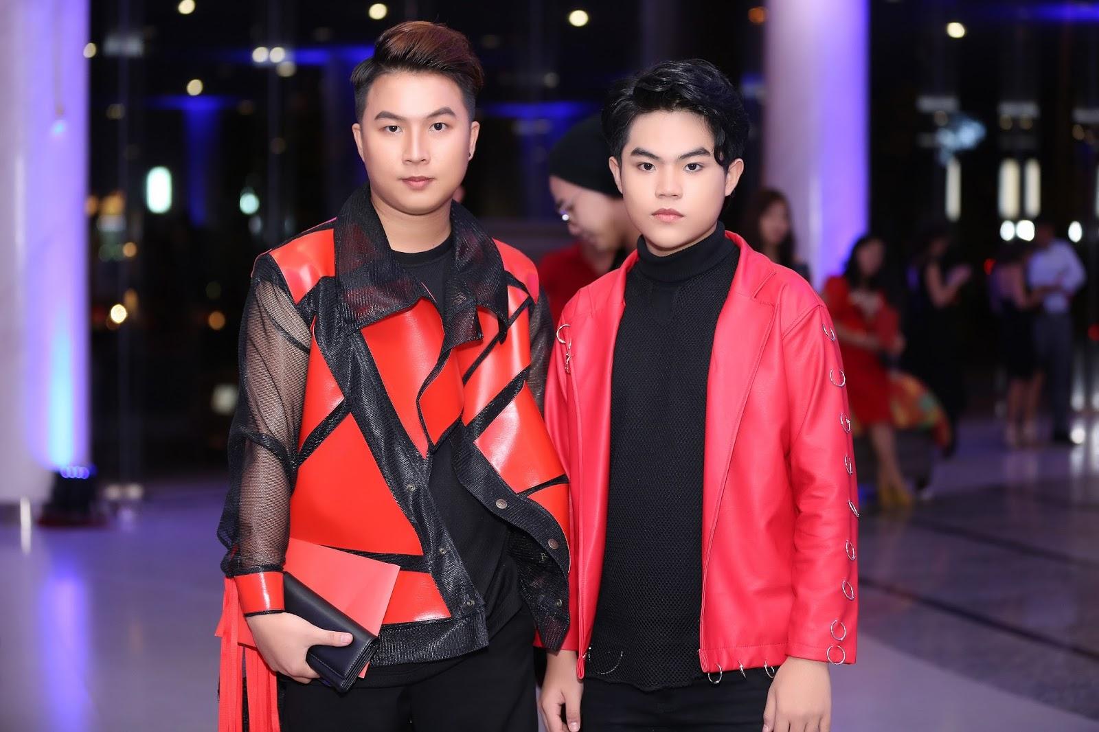 Hot boy Quang Anh hội ngộ Fashionista Kelbin Lei thảm đỏ The Muse 2
