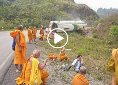 Biksu Budha Kecelakaan Hebat, Azab Akibat Bunuh Muslim Rohingya? Bantu Sebarkan ...