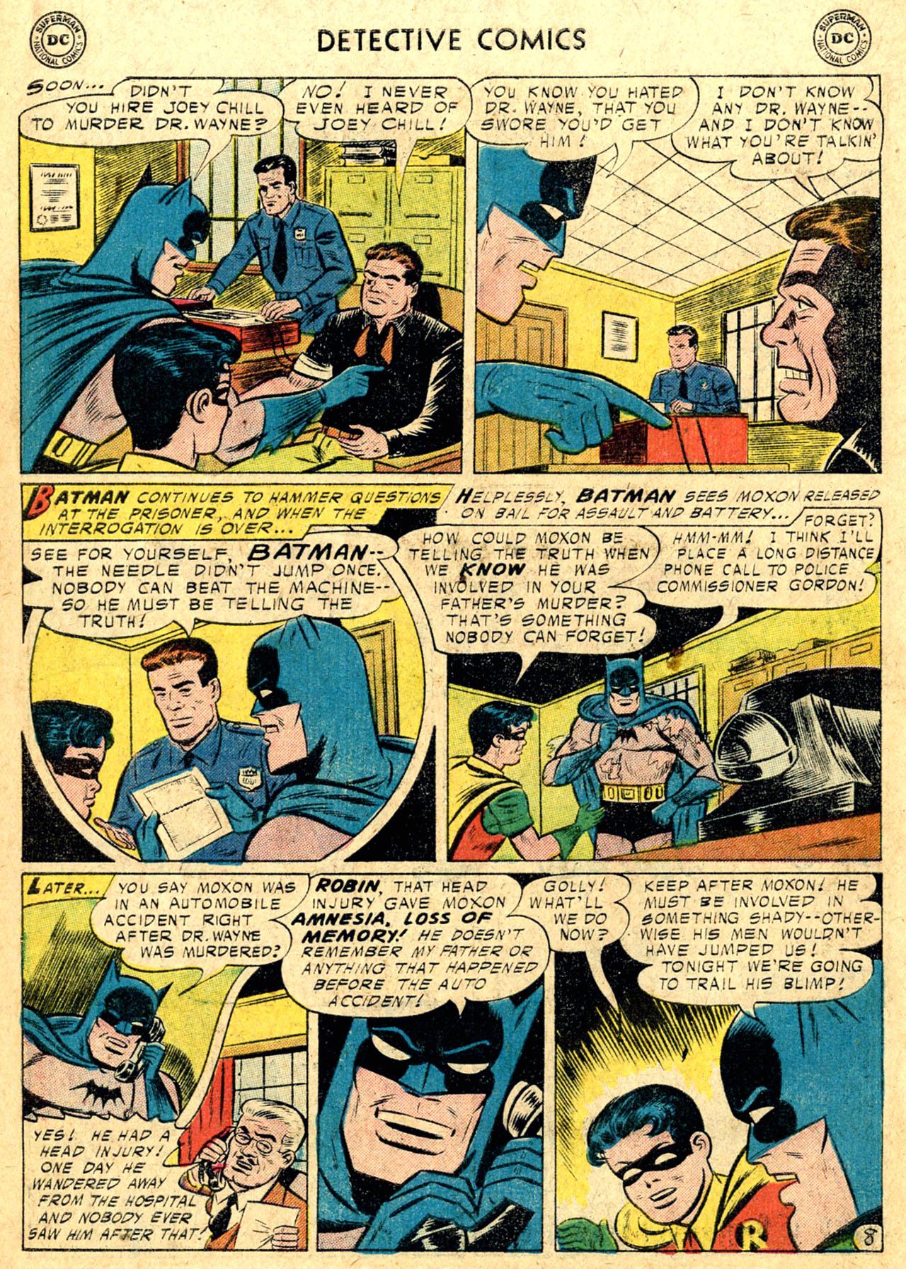 Read online Detective Comics (1937) comic -  Issue #235 - 10