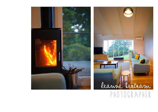 fireplace, scandinavian styling, getaway, otways