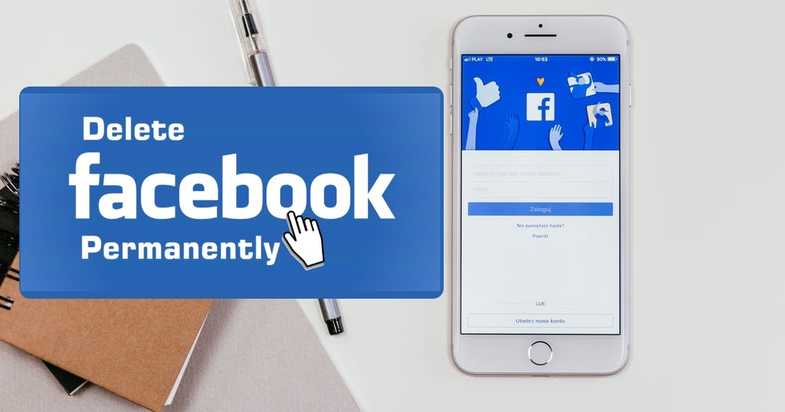 delete facebook account from iphone
