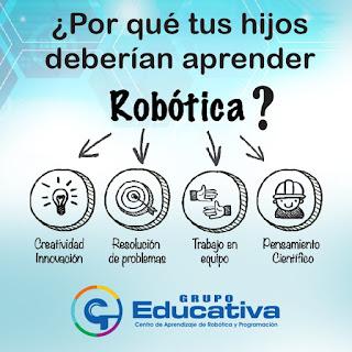 Aprender robótica en grupo educativa de arequipa