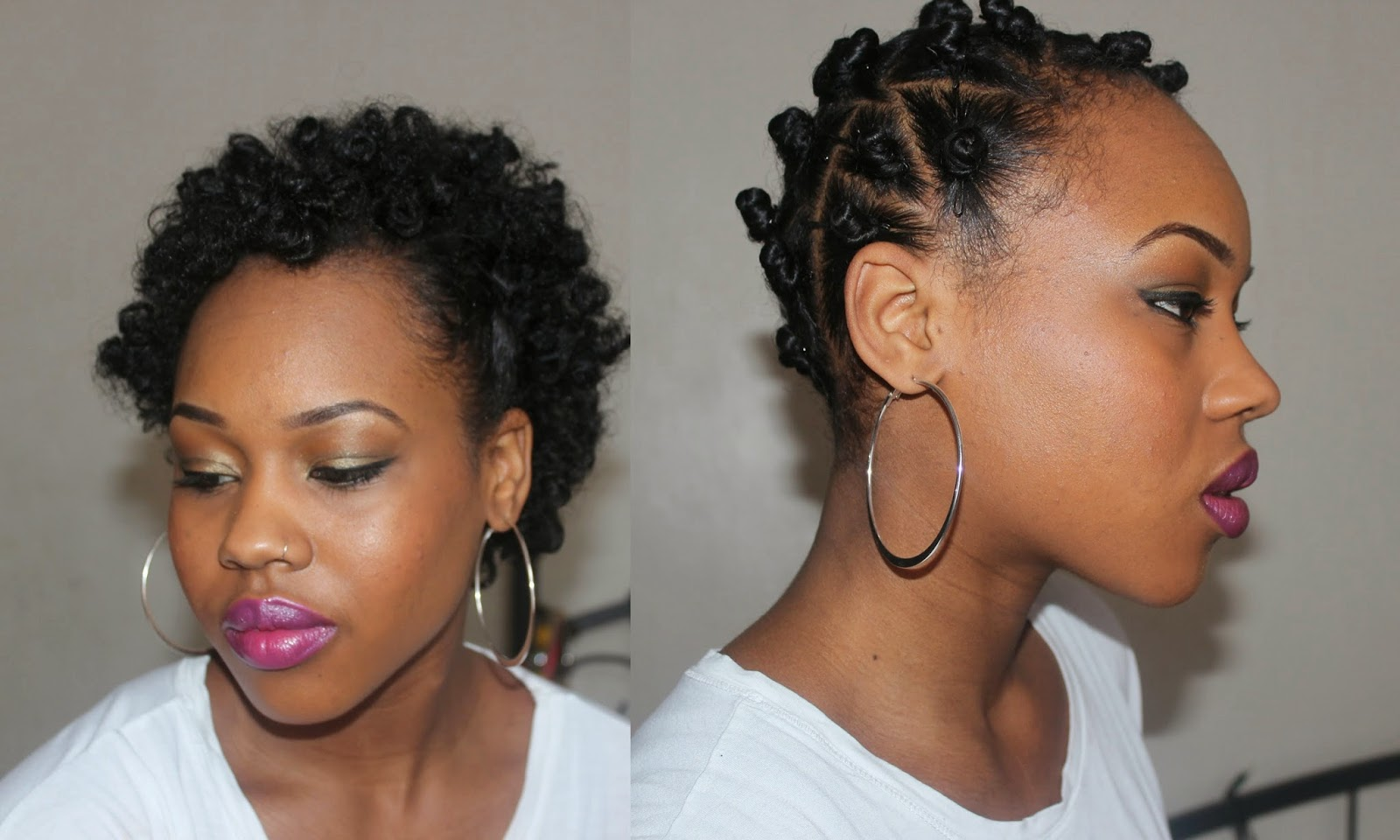 Bantu Knots On Natural Hair Moisturizer