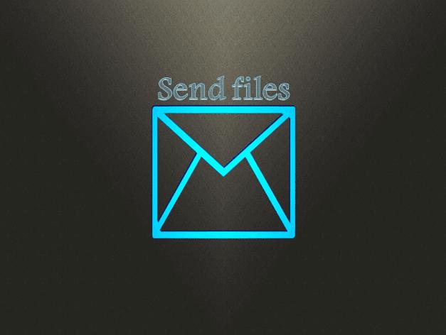 إرسال ملفات كبيرة  الحجم ( المرفقات) عن طريق البريد الإلكتروني
