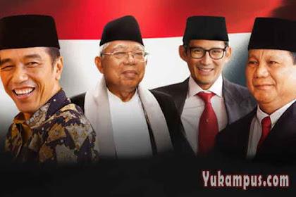 Hasil Quick Count Pilpres 2019 Lengkap, Prabowo Kalah Dimana-mana
