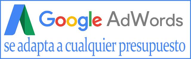 Google AdWords se adapta a cualquier presupuesto