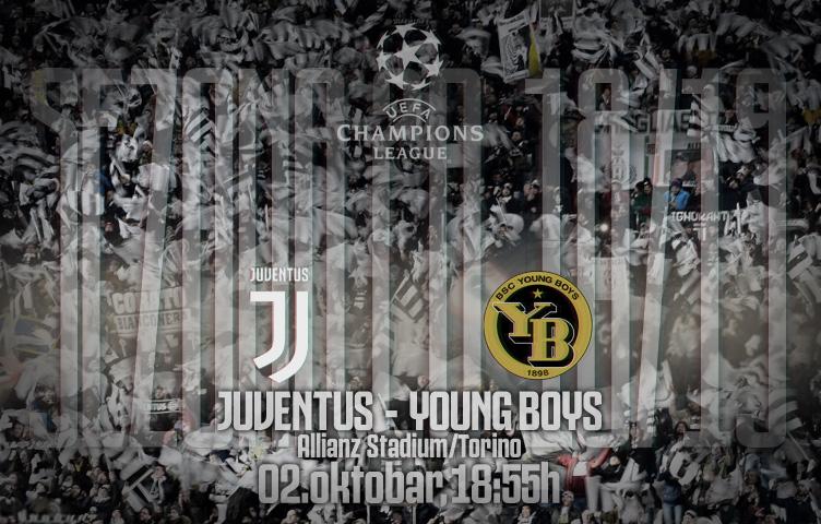 Liga prvaka 2018/19 / 2. kolo / Juve - Young Boys, utorak, 18:55h