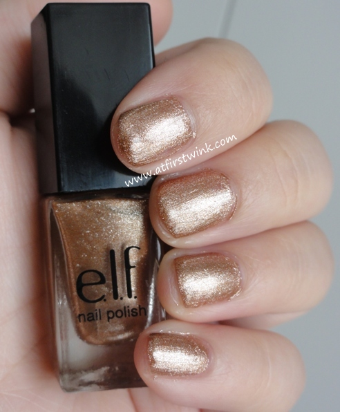 e.l.f. Blushing Beauty nail polish